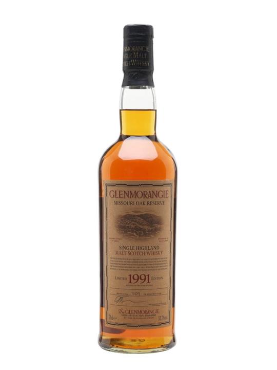 Glenmorangie 1991 / Missouri Oak Highland Single Malt Scotch Whisky