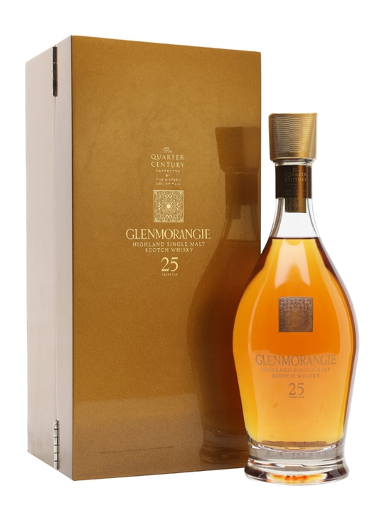Glenmorangie 25 Year Old / Quarter Century Highland Whisky