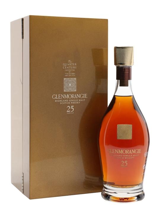 Glenmorangie 25 Year Old / Quarter Century Highland Whisky