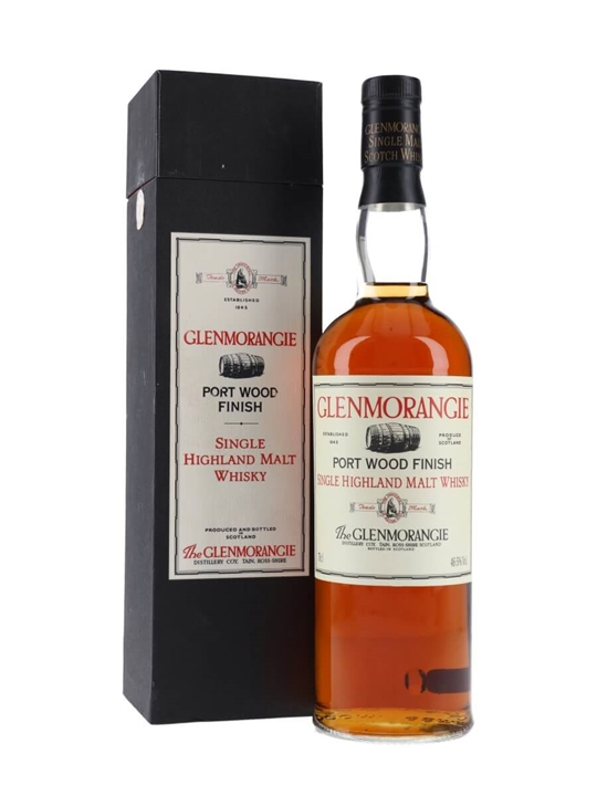 Glenmorangie Port Wood / Bot.1990s Highland Single Malt Scotch Whisky