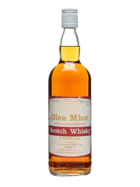 Glen Mhor 8 Year Old / Bot.1970s / G&m Highland Whisky