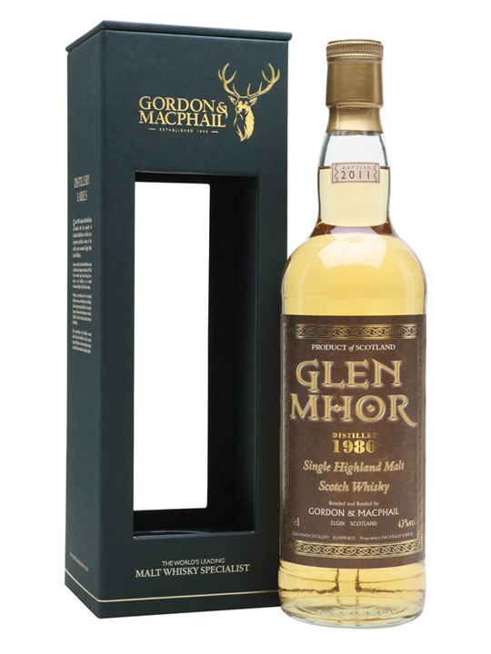 Glen Mhor 1980 / Gordon & Macphail Speyside Single Malt Scotch Whisky