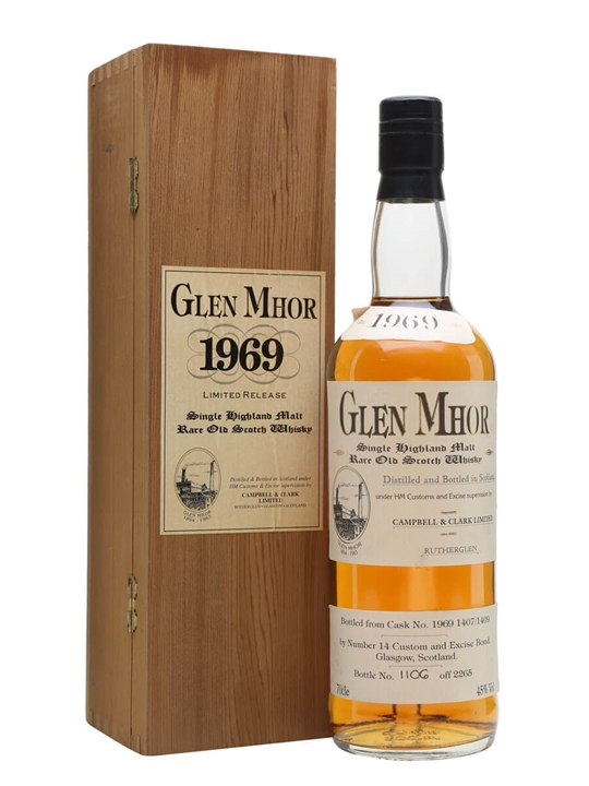 Glen Mhor 1969 / Cask #1407/1409 Speyside Single Malt Scotch Whisky