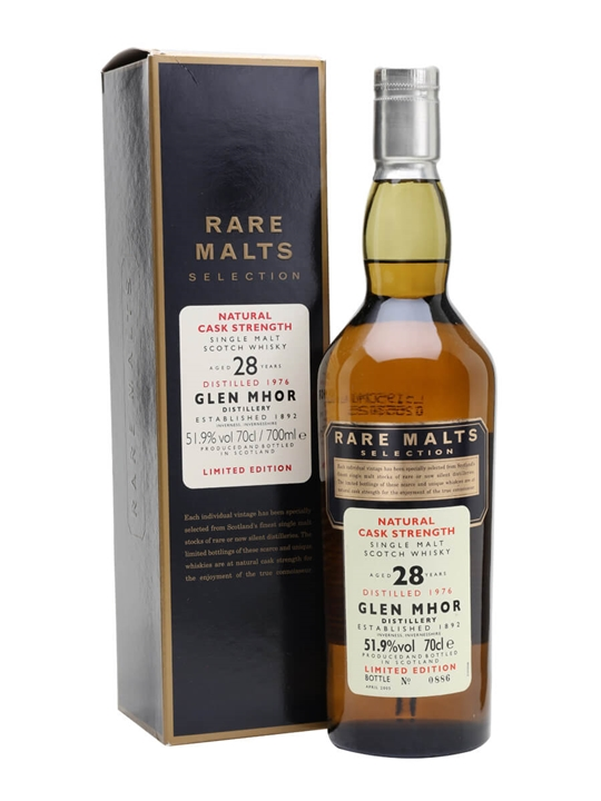 Glen Mhor 1976 / 28 Year Old Speyside Single Malt Scotch Whisky