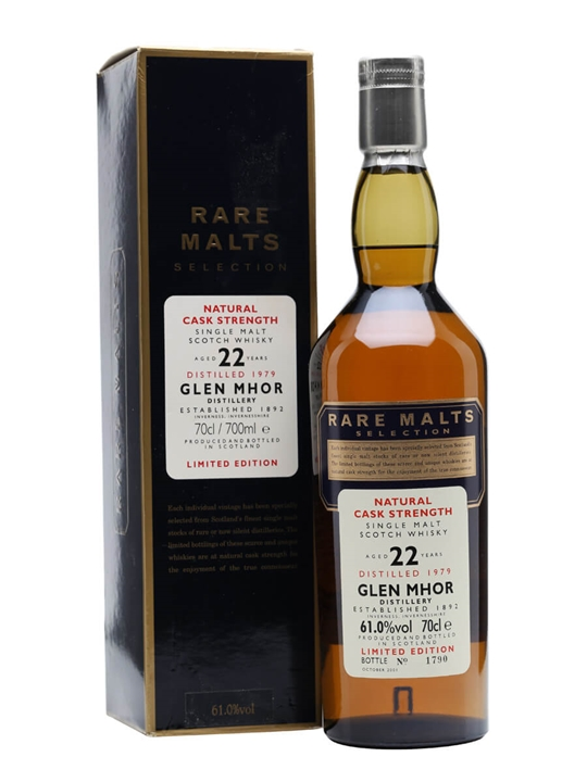 Glen Mhor 1979 / 22 Year Old / Rare Malts Speyside Whisky