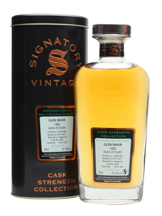 Glen Mhor 1982 / 29 Year Old / Cask #1604 Speyside Whisky