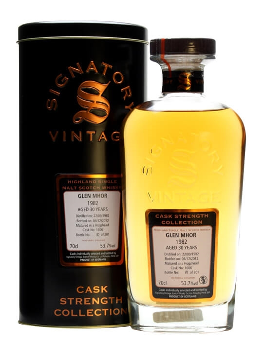 Glen Mhor 1982 / 30 Year Old / Cask #1606 / Signatory Speyside Whisky