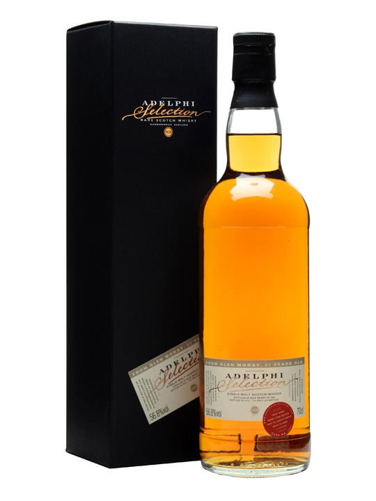 Glen Moray 1986 / 27 Year Old / Cask #1931 / Adelphi Speyside Whisky