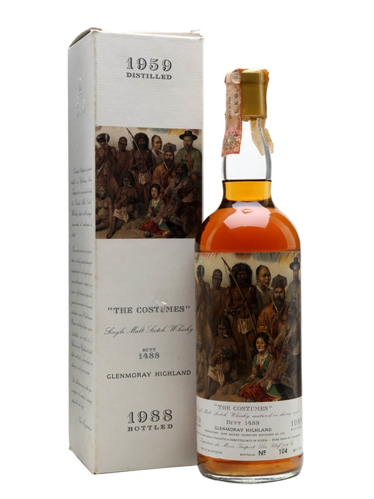 Glen Moray 1959 / The Costumes / Cask #1488 / Bot.1988 Speyside Whisky