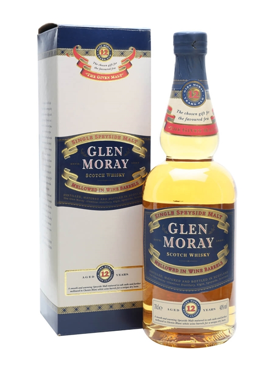 Glen Moray 12 Year Old / Wine Cask Mellowed Speyside Whisky