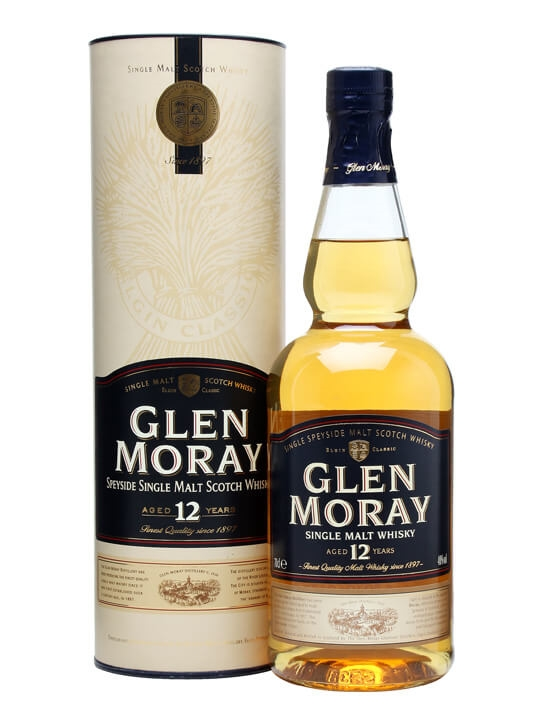 Glen Moray 12 Year Old Speyside Single Malt Scotch Whisky