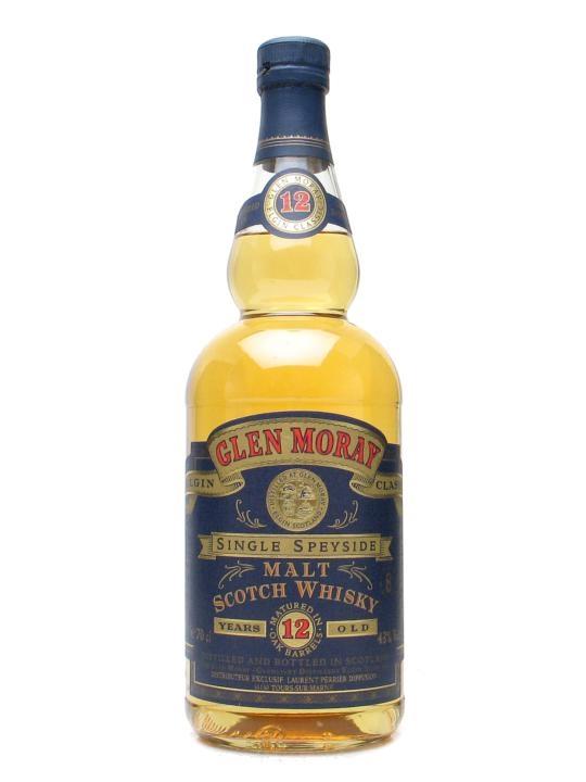 Glen Moray 12 Year Old / Wine Mellowed Speyside Whisky