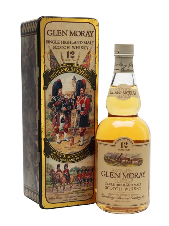 Glen Moray 12 Year Old / Highland Regiments Speyside Whisky