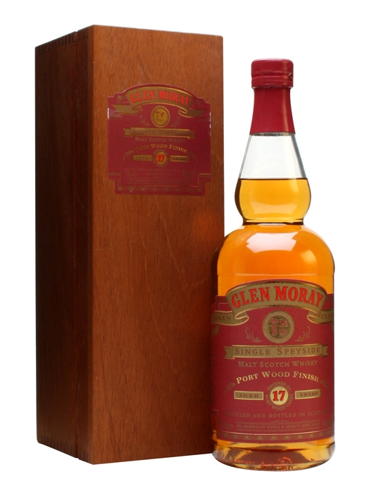 Glen Moray 17 Year Old / Port Wood Finish Speyside Whisky