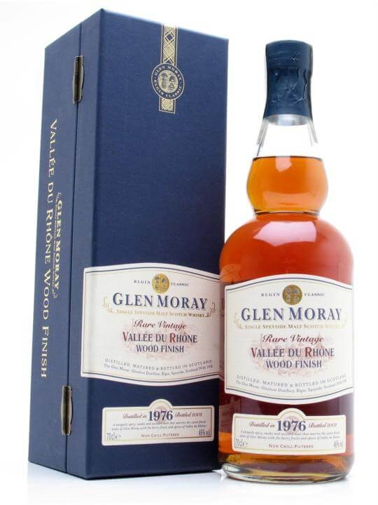 Glen Moray 1976 / 26 Year Old / Vallée Du Rhone Finish Speyside Whisky