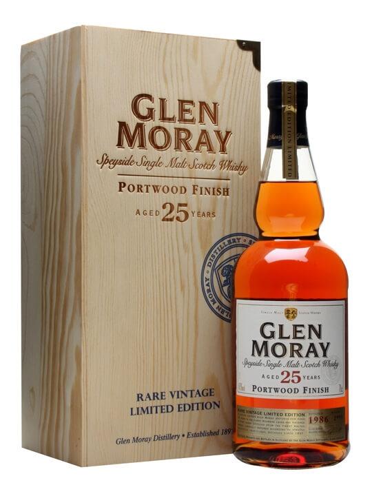 Glen Moray 25 Year Old / Portwood Finish Speyside Whisky
