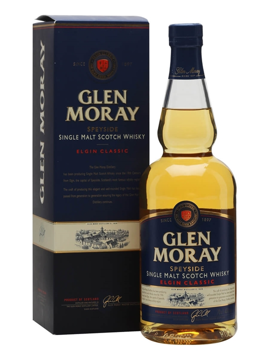 Glen Moray Classic Speyside Single Malt Scotch Whisky