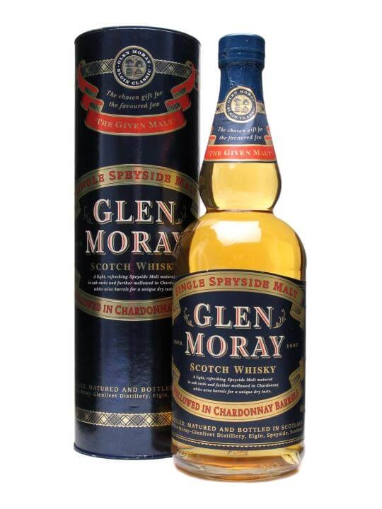 Glen Moray / Chardonnay Cask Mellowed Speyside Whisky