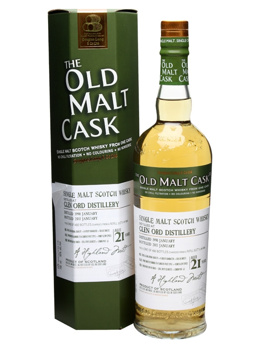 Glen Ord 1990 / 21 Year Old / Cask #6856 Highland Whisky