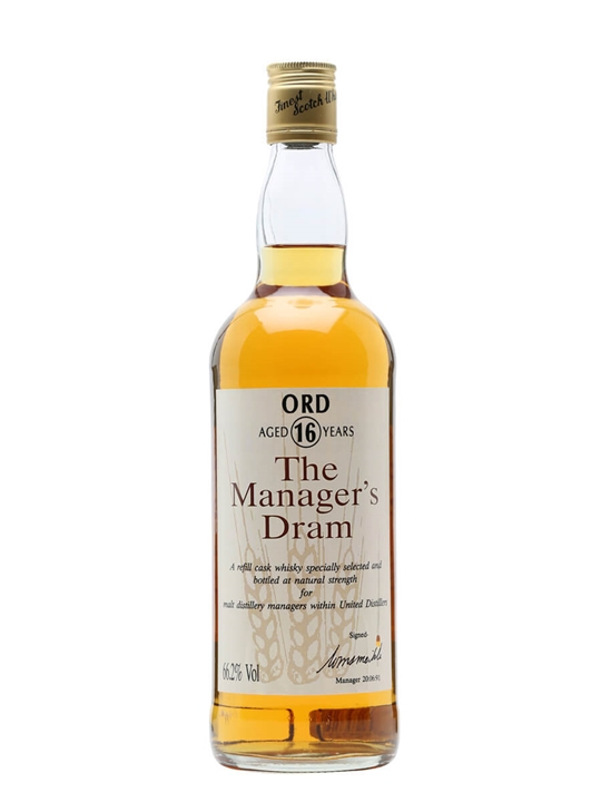 Ord 16 Year Old / Manager's Dram Highland Single Malt Scotch Whisky