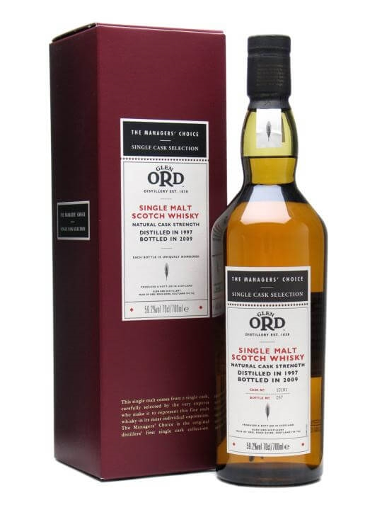 Glen Ord 1997 / Managers' Choice Highland Single Malt Scotch Whisky