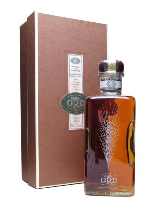 Glen Ord 25 Year Old Highland Single Malt Scotch Whisky