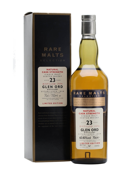 Glen Ord 1974 / 23 Year Old / Rare Malts Highland Whisky