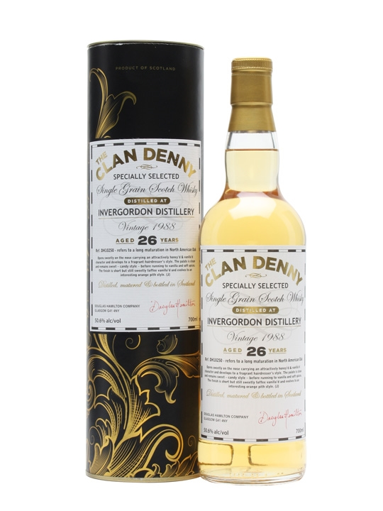 Invergordon 1988 / 26 Year Old / Cask #DH10250 Single Whisky