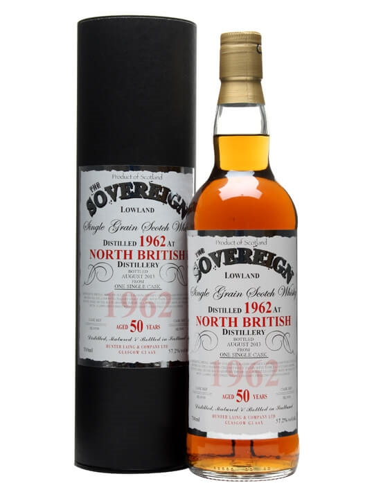 North British 1962 / 50 Year Old / Sovereign Single Whisky