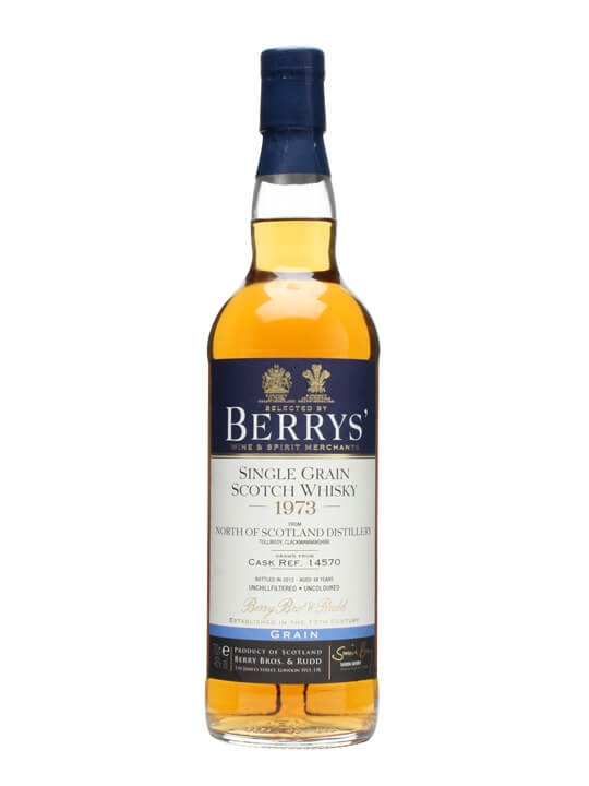 North Of Scotland 1973 / Cask #14570 / Berry Bros & Rudd Single Whisky