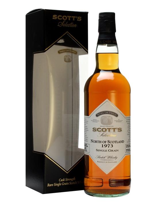 North Of Scotland 1973 / Scott's Selection Single Grain Scotch Whisky