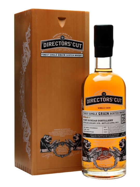 Port Dundas 1978 / 35 Year Old / Director's Cut Single Whisky
