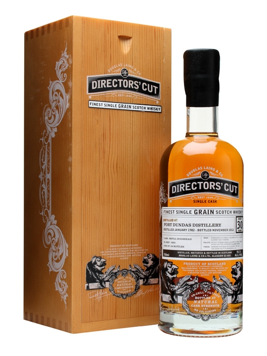 Port Dundas 1982 / 30 Year Old / Director's Cut / Cask #9283 Single Whisky