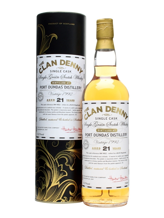 Port Dundas 1992 / 21 Year Old / Cask #hh9452 Single Whisky