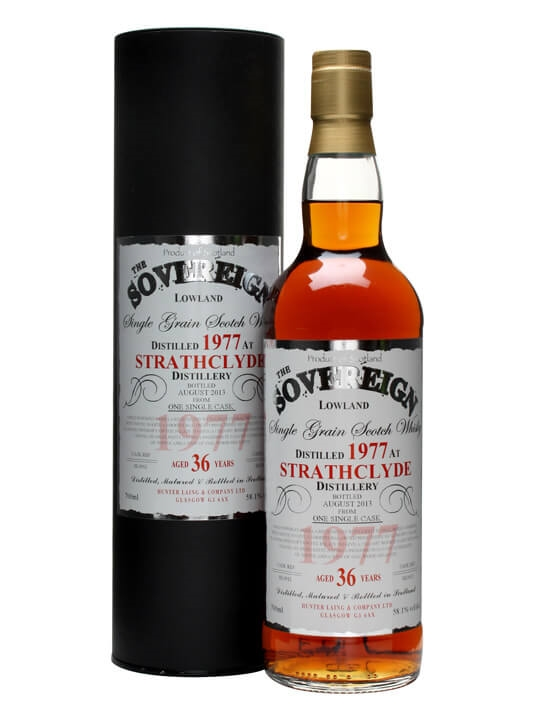 Strathclyde 1977 / 36 Year Old / Sovereign Single Grain Scotch Whisky
