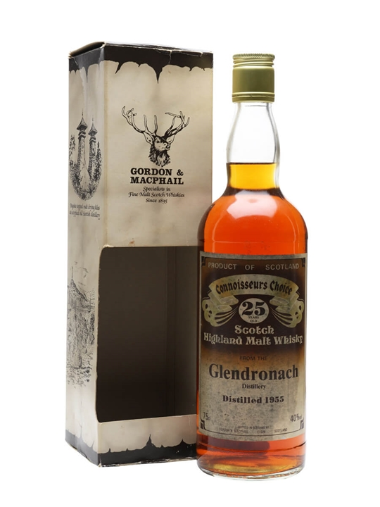 Glendronach 1955 / 25 Year Old / Connoisseurs Choice Speyside Whisky