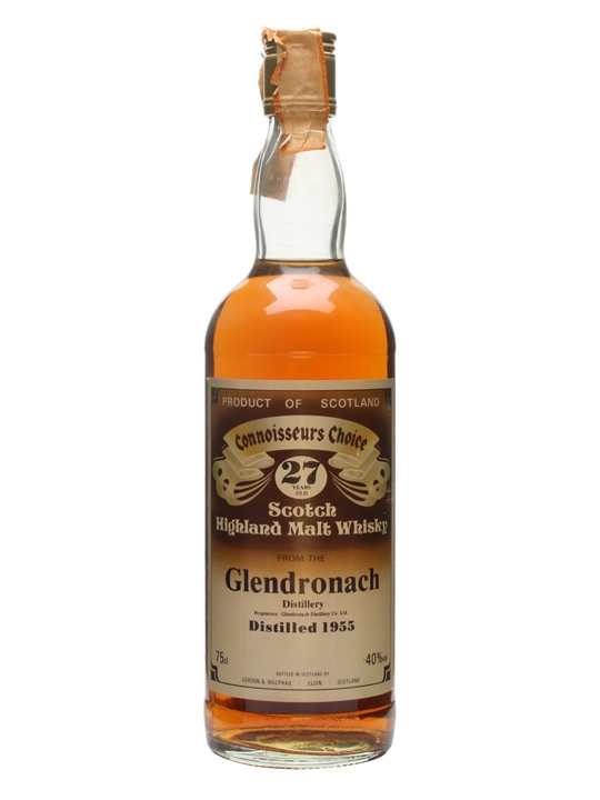 Glendronach 1955 / 27 Year Old / Connoisseurs Choice Speyside Whisky