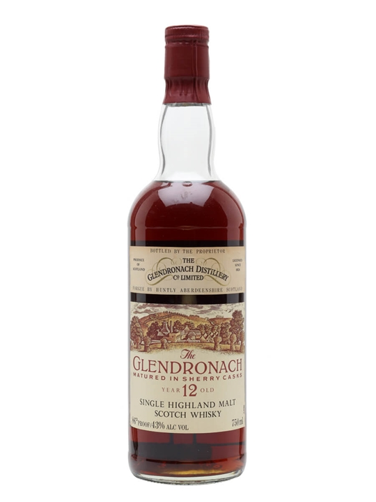 Glendronach 12 Year Old / Bot.1980s Speyside Single Malt Scotch Whisky