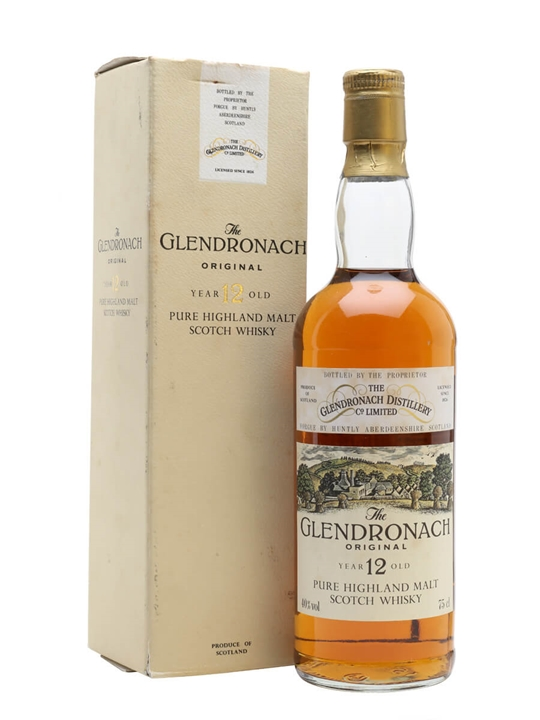 Glendronach 12 Year Old / Original / Bot.1980s Speyside Whisky