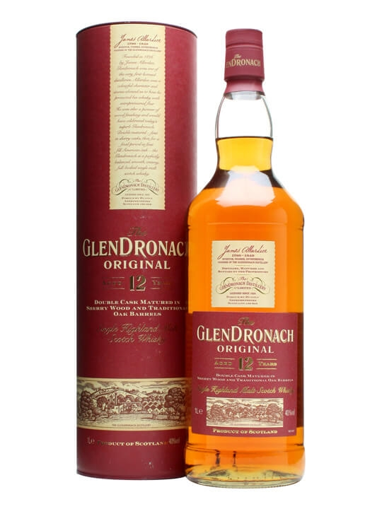 Glendronach 12 Year Old Original / 1 Litre Speyside Whisky
