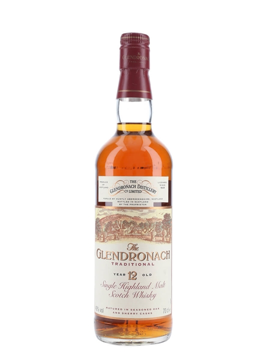 Glendronach 12 Year Old / Traditional Speyside Whisky