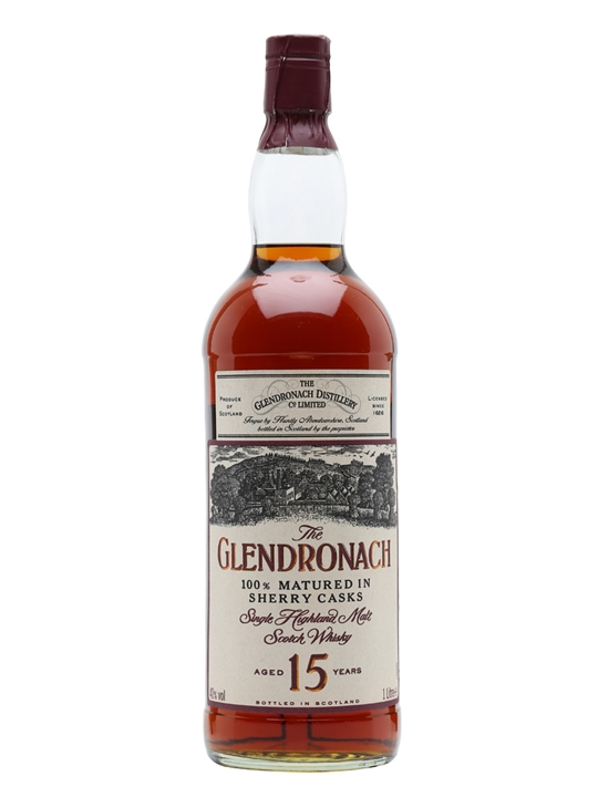 Glendronach 15 Year Old / Sherry / 1l Speyside Whisky