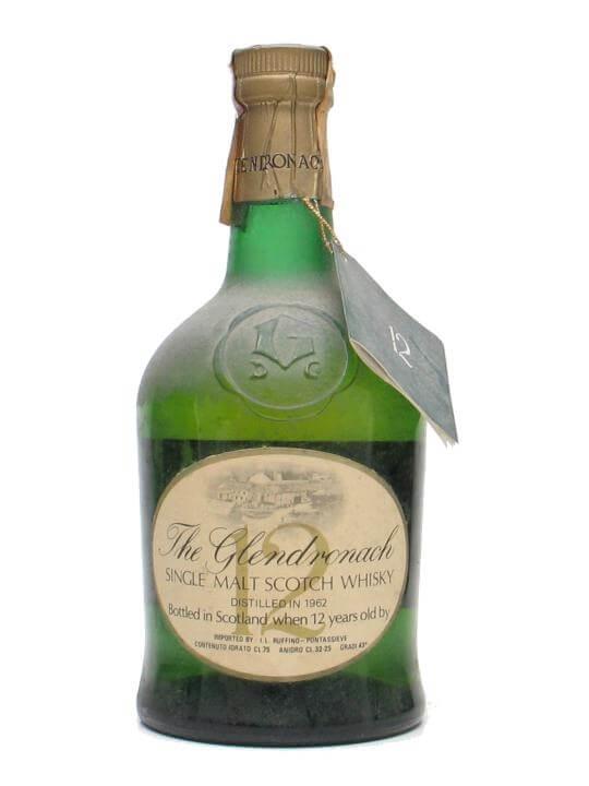 Glendronach 1962 / 12 Year Old Speyside Single Malt Scotch Whisky