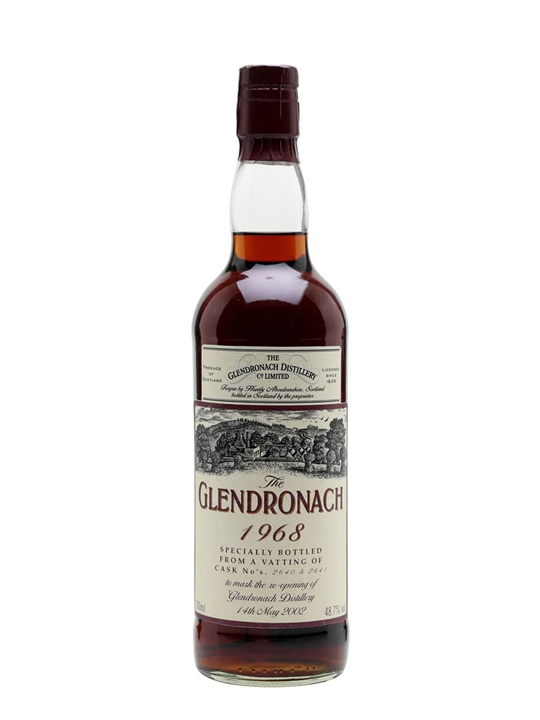 Glendronach 1968 / Reopening Of Distillery 2002 Speyside Whisky