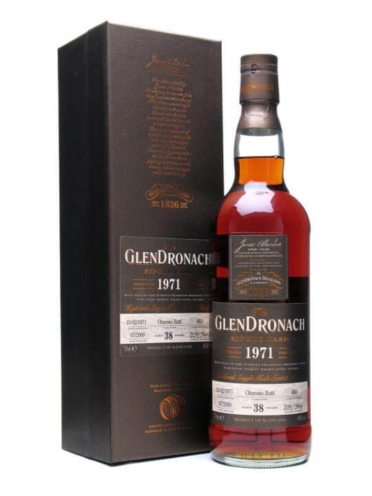 Glendronach 1971 / 38 Year Old / Oloroso Sherry Butt Speyside Whisky