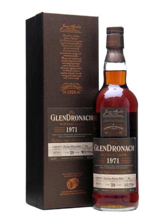 Glendronach 1971 / Oloroso Sherry Butt #441 / Japan Speyside Whisky