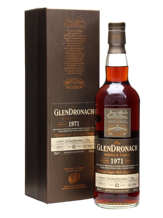 Glendronach 1971 / 42 Year Old / Px Puncheon #1246 Speyside Whisky