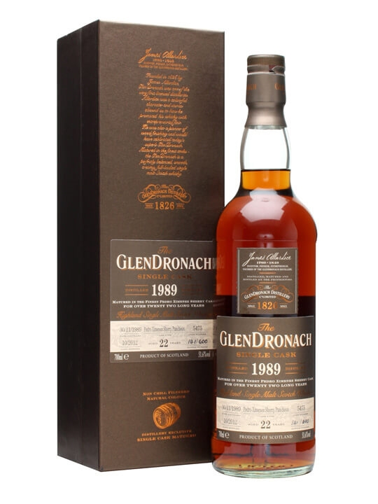Glendronach 1989 / 22 Year Old / Px Puncheon #5475 Speyside Whisky