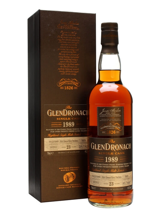 Glendronach 1989 / 23 Year Old / Px Puncheon #5470 Speyside Whisky