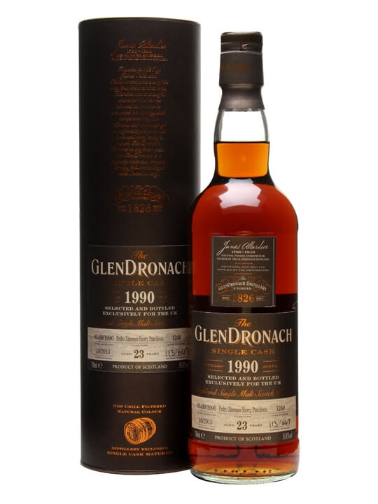 Glendronach 1990 / 23 Year Old / Px Puncheon #1240 Speyside Whisky